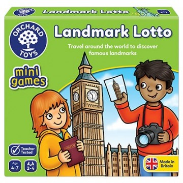 Orchard Toys Mini Games - Landmark Lotto