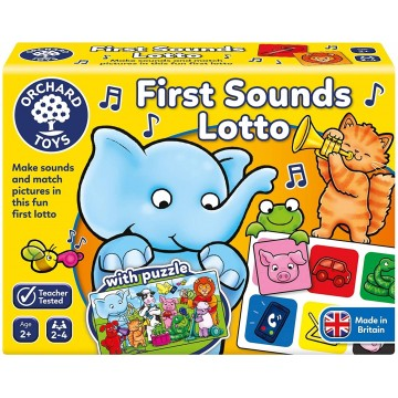 Orchard Toys First Sound Lotto And Puzzle